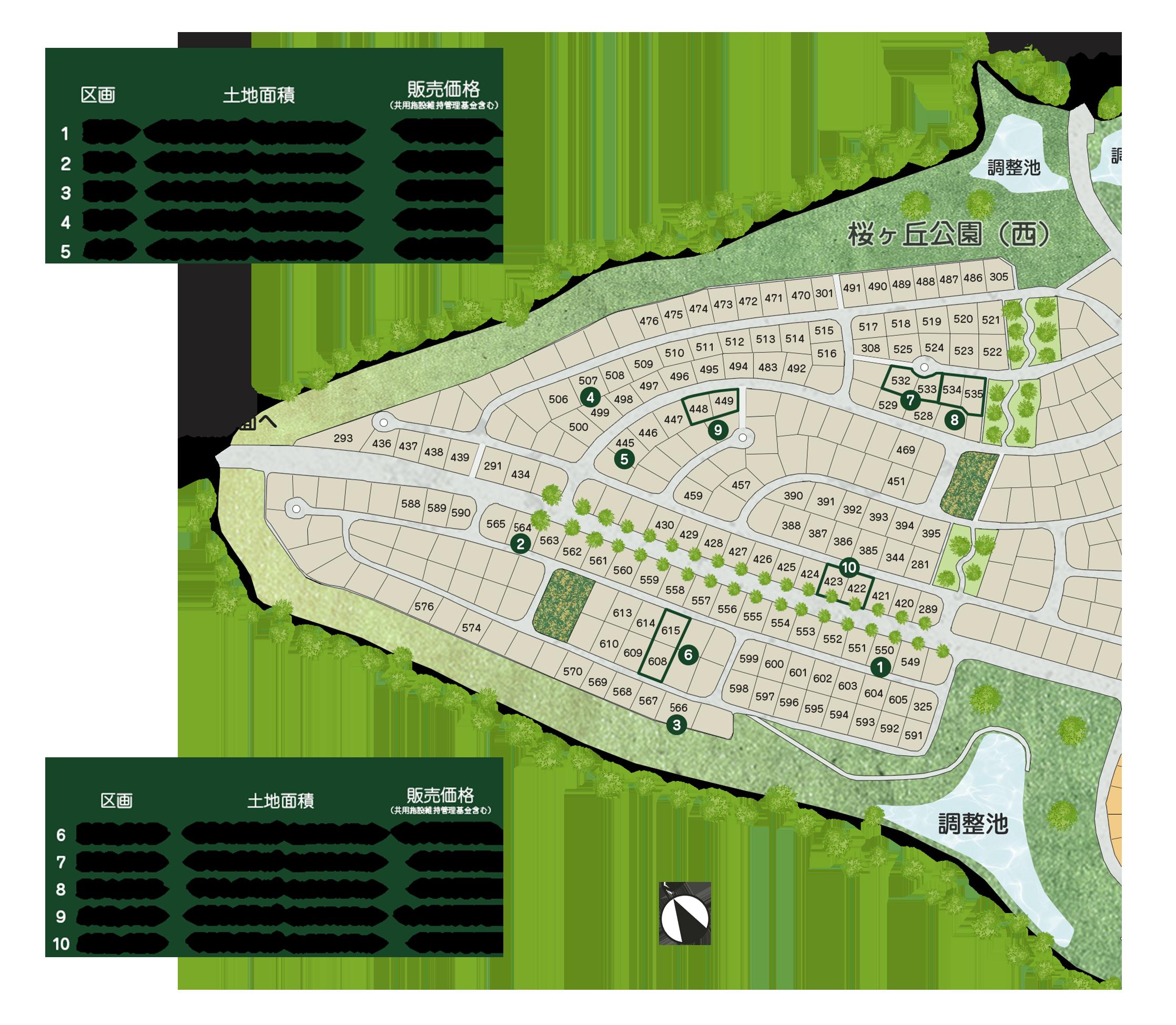 販売区画MAP